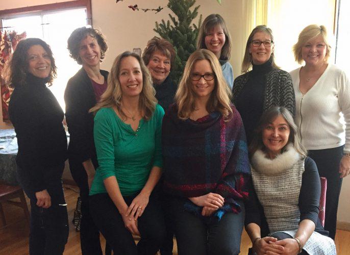 From Left to Right - Bernadette Geras, Leanne Hiebert, Gina Wedel, Alanna Courtney, Dianne Norris, Viktorya Tuz, Tiffany Wilson